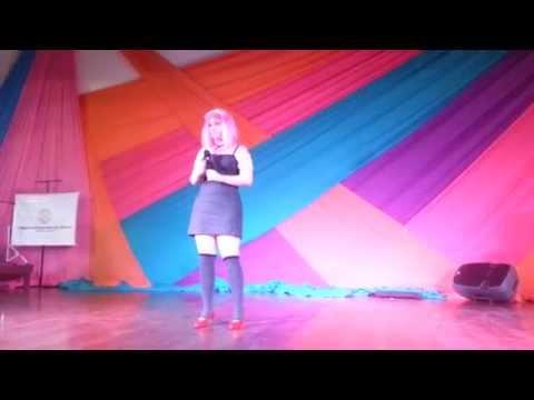 Loreley Durán (Soprano) - Lilium Karaoke Expo Anime Paraguay 2013