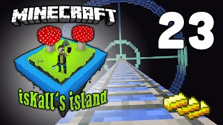Iskall's Island - Vanilla Minecraft Lets Play - 23 - Overpowered Gold Farm