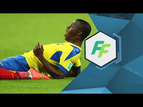 Enner Valencia of Ecuador and West Ham (EXCLUSIVE)
