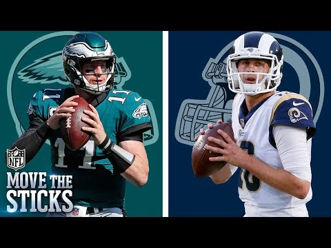 Carson Wentz vs. Jared Goff: Comparing & Contrasting the Sophomore Standouts | Move The Sticks | NFL