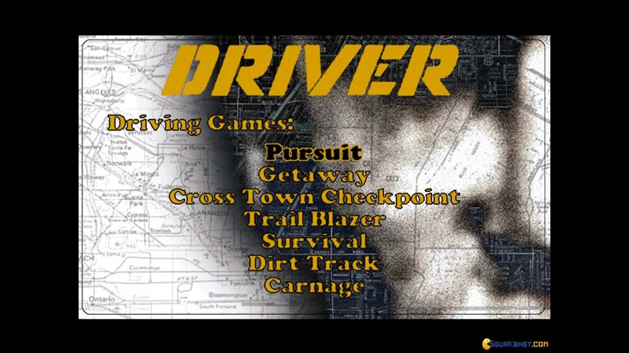 Driver gameplay (PC Game, 1999)