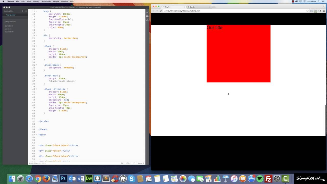 How to add Parallax Scrolling and Animations to your website – Pure HTML,  CSS, jQuery Tutorial