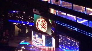 Kurt Angle Hall of Fame Announcement and Video Package WWE Raw 1/16/17 Little Rock, Arkansas
