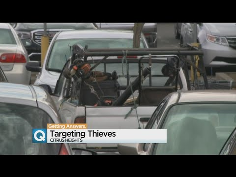 Citrus Heights Catching Crooks With Plenty Of Bait
