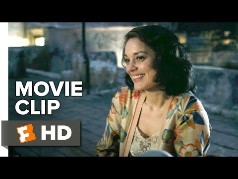 Allied Movie CLIP - On the Roof (2016) - Marion Cotillard Movie
