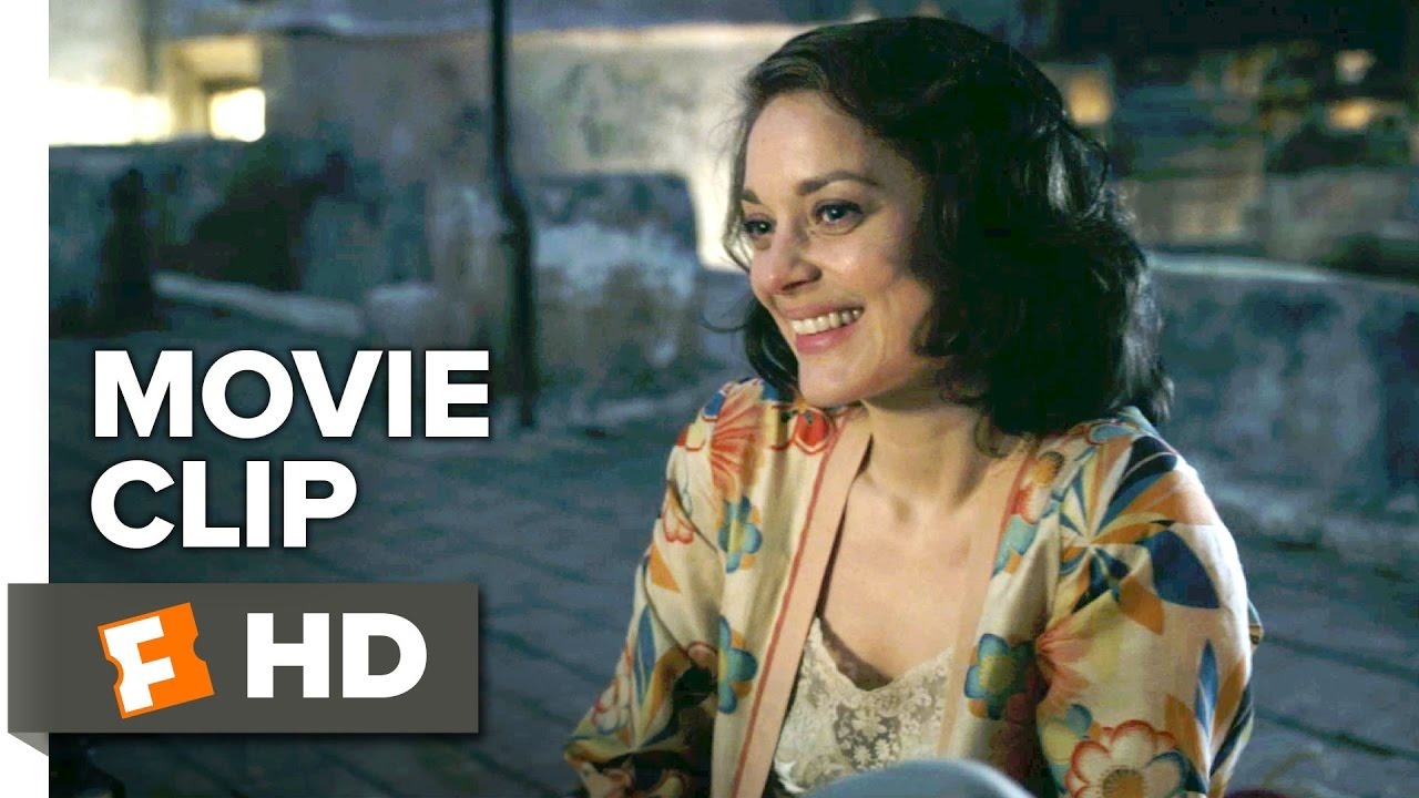 Allied Movie CLIP - On the Roof (2016) - Marion Cotillard ...