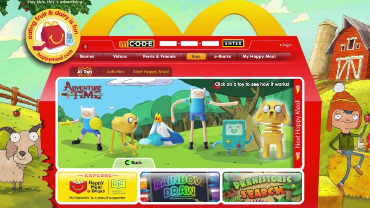 Mcdonald S Debuts Adventure Time Happy Meal Toys Without