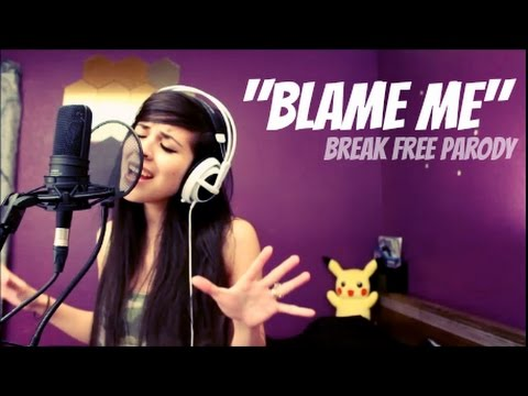 LUNITY - BLAME ME (Break Free by Ariana Grande ft Zedd) | League of Legends Parody