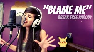 Repeat youtube video LUNITY - BLAME ME (Break Free by Ariana Grande ft Zedd) | League of Legends Parody