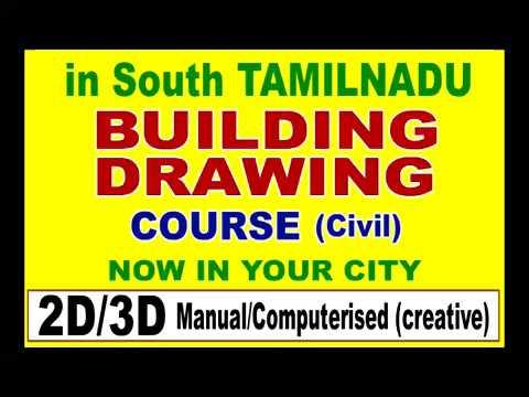 TAMILNADU MADURAI BUILDING 2D/3D DRAWING  COACHING