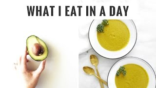 #5 What I Eat In A Day | Lots of Veggies, Snacks & Golden Milk | Healthy Grocery Girl