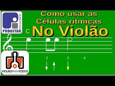 Células rítmicas no Violão para Todos