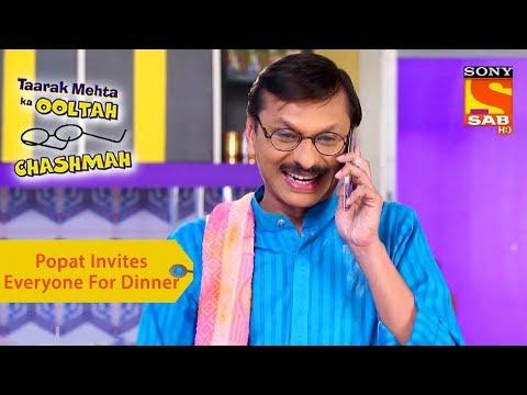 Your Favorite Character | Popatlal Invites Everyone For Dinner | Taarak Mehta Ka Ooltah Chashmah