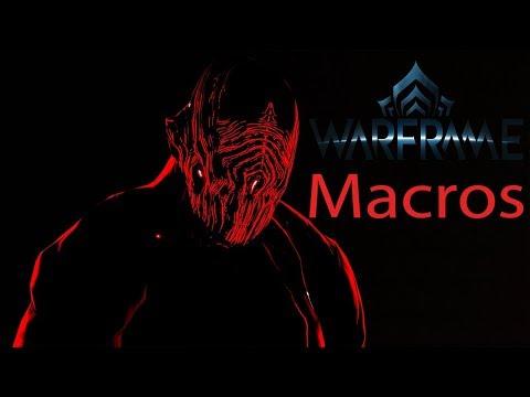 Warframe - Meus Macros - Dashing Macro - Slide Macro - Salto bala