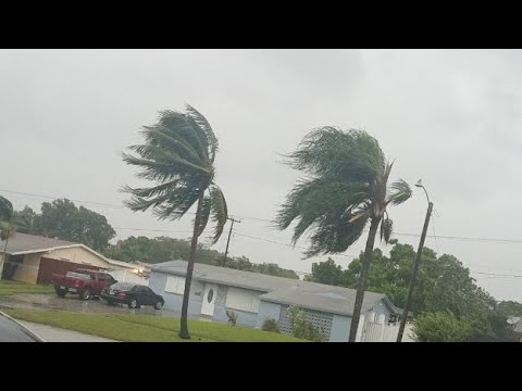 Hurricanes Irma 7:30am Pembroke Pines