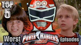 Top 5 Worst Power Rangers Turbo Episodes