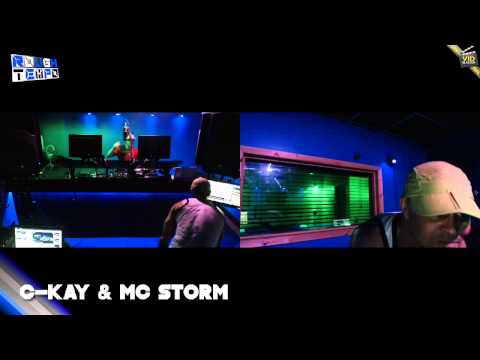 BREEZE & C-KAY with MC STORM - Rough Tempo LIVE! - May 2013