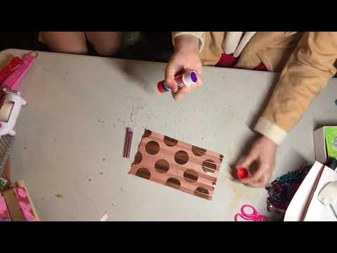 Kids DIY Paper Fan