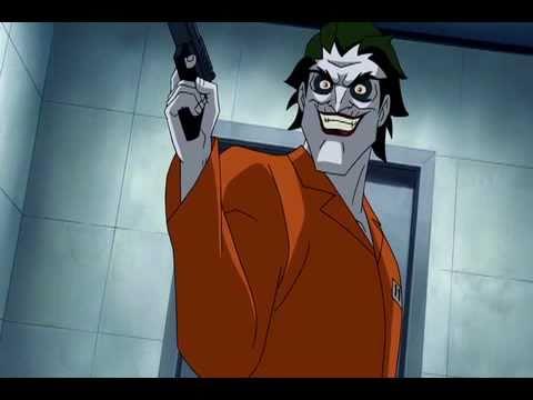 Batman: Under the Red Hood - Joker/Black Mask scene