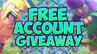 Free CoC Th8 Account Giveaway!(Lucky Offer)