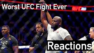 Mma Reacts Negatively To Derrick Lewis Vs