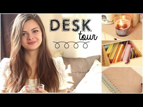 Desk Tour | Office Supplies & Organisation