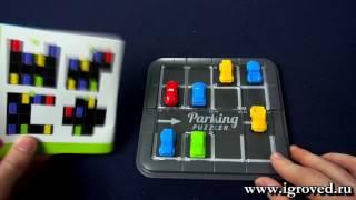Парковка Пазл. Обзор настольной игры-головоломки от Игроведа