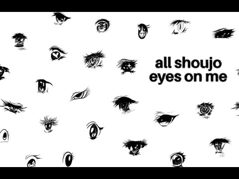 Drawing 100 Anime Girls' Eyes (The Making of All Shoujo Eyes on Me)