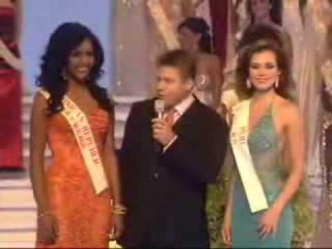 Miss World 2004 is Miss Perú-crowning moment
