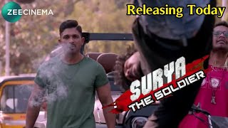 Surya The Soldier Hindi Dubbed Full Movie   Allu Arjun   Releasing Today