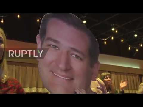 USA: Cruz Rallies In Fort Worth As Voting Opens For Texas Senate Race