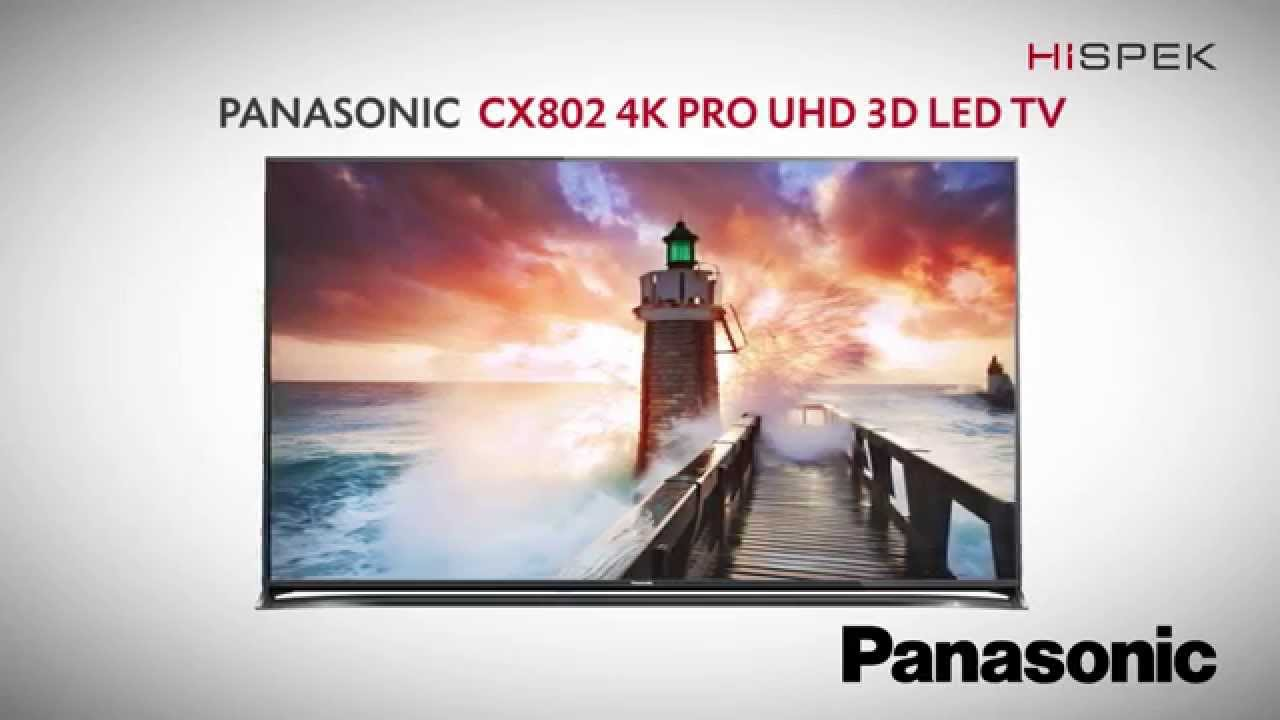 Panasonic Viera TX-65CX802B TV Drivers for Windows Download