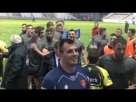 Rugby Trophée Babcock Marine Nationale vs Royal Navy Résumé Stade Mayol Live TV Sports 201