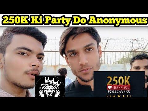 250K Ki Party To Banti Hai - Little Update For Youtuber - Aqib Views