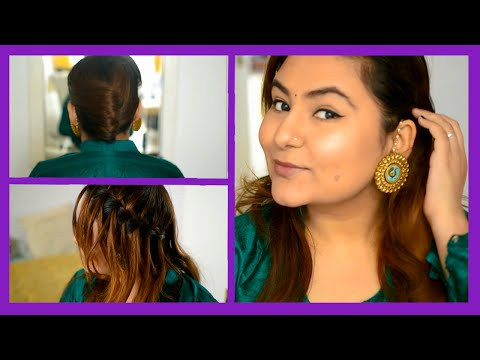 3 short hairstyles for Indian weddings {Delhi fashion blogger}