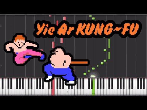 [NES on Piano] Yie Ar Kung - Fu NES