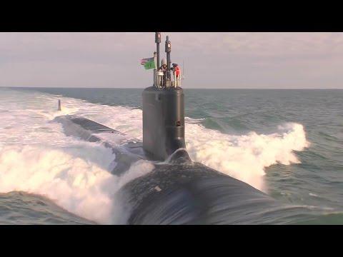 NNS - USS Washington (SSN 787) Nuclear Submarine Completed Initial Sea Trials [1080p]