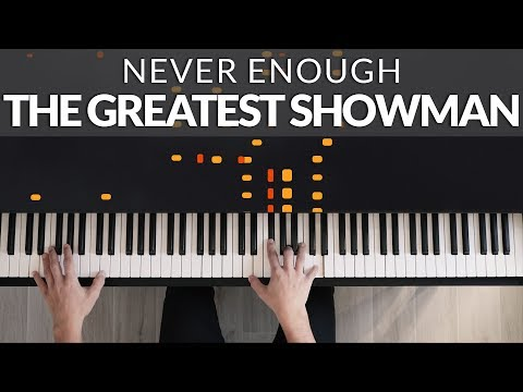 The Greatest Showman - Never Enough (Loren Allred) | Tutorial of my Piano Cover