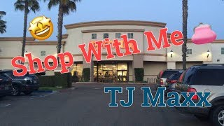 TJ MAXX | SHOP WITH ME | VLOG STYLE | DECOR | FURNITURE | SPRING