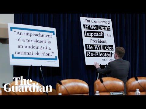 Trump impeachment inquiry: