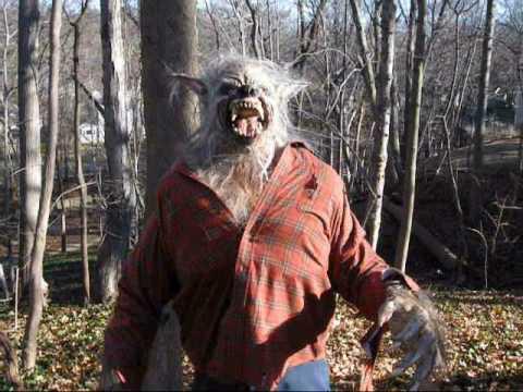 Werewolf Costume -The Big Bad Wolf Werewolf / Wolfman Theme Park ...