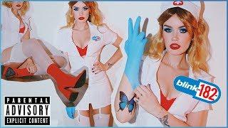 BLINK-182 NURSE Full Costume + Makeup Tutorial! ASHTOBERFEST IV