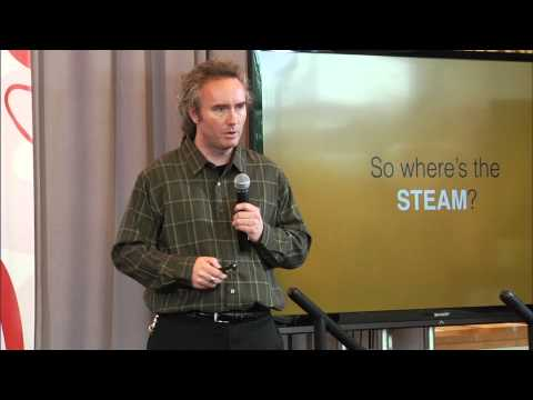Moving full STEAM ahead with game jams: Scott Shaw at TEDxWilmingtonUniversity