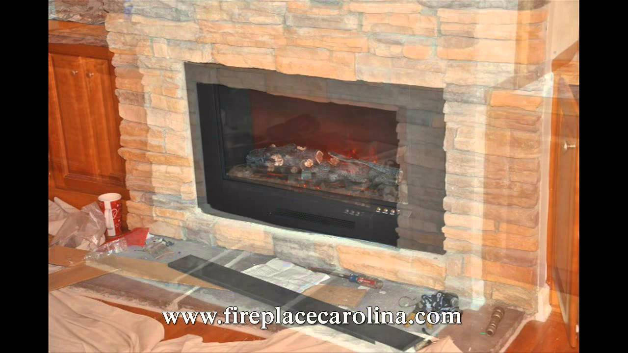 Gas to Electric Fireplace conversion 2 8 15