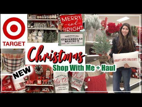 TARGET CHRISTMAS SHOP WITH ME 2019 * Target Dollar Spot & All Christmas Decor + Haul