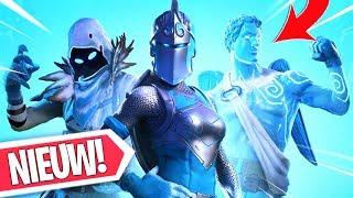 FROZEN LEGEND SKINS NU INGAME!! NIEUWE GAMEPLAY VAN DISCO WRAP! Fortnite Battle Royale Nieuws