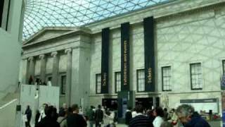 Entrando no Grand Hall do British Museum Thumbnail