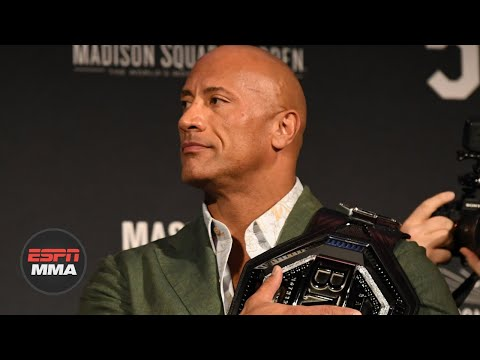 The Rock announces new movie about UFC fighter Mark Kerr | ESPN MMA