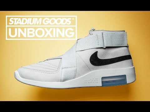 e467dabbe80a6 Nike Air Fear of God Raid + Moc | Stadium Goods Unboxing
