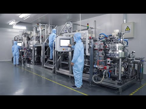 Production Of Cosmetic Creams \u0026 Lotions - Trailer   IKA